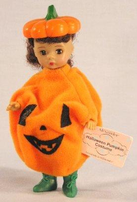 Madame Alexander Doll - Halloween Pumpkin Costume - McDonald's 2003 #05 - 1