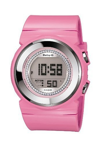 Casio BGD-102-4ER BABY-G ladies digital resin strap watch