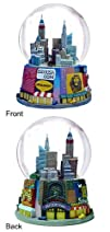 New York City Broadway Large Snow Globe 125mm