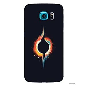 Back cover for Samsung Galaxy S6 Abstract Planet