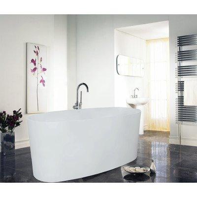 PureScape 610 Freestanding AquaStone Bathtub Finish: Glossy