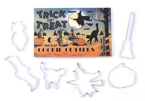 R & M Halloween 6 Piece Cookie Cutter Set  Gift