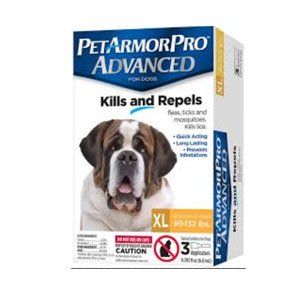 PetArmorPro Advanced XLarge (89-132 lbs)