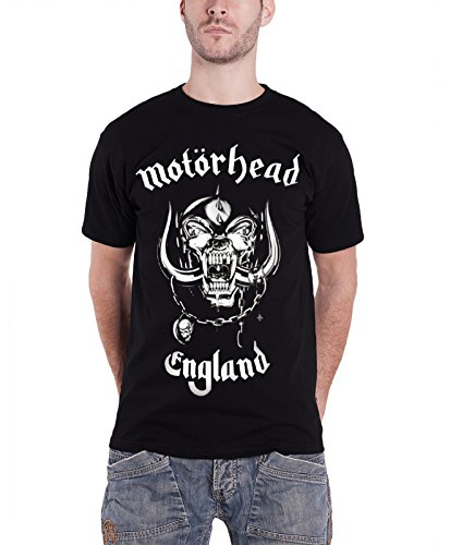 Motorhead England Vintage 1980s War Pig Official Black T Shirt for Adults