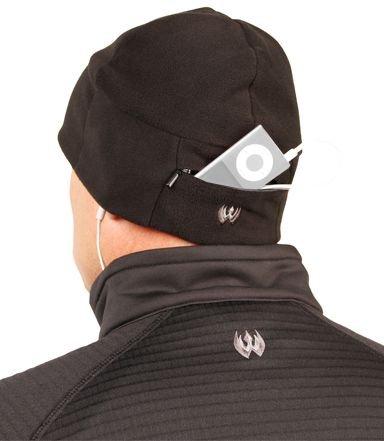 Blackhawk! Performance Fleece Watch Cap With Pocket - Black