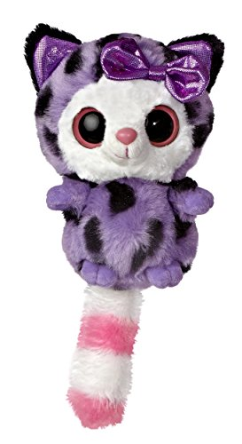 Aurora World YooHoo and Friends Small Pammee Purple Cheetah Plush