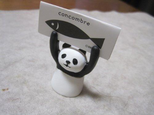□■□ DECOLE「Concombre」アテンションメッセージホルダー 「PANDA/パンダ」 ZCB-23943 □■□