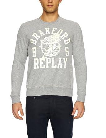 Replay M3052 Men 39 S Sweatshirt Black Large