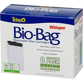Tetra Whisper Unassembled Bio-Bag Filter Cartridges