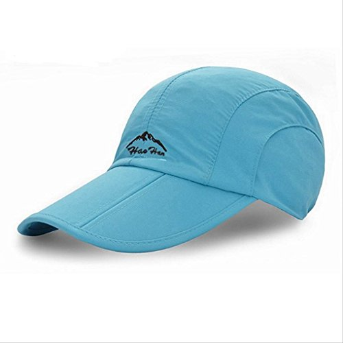Cedon Folding Cap Snapback Brim Breathable Water Resistant Camping Outdoor Climbing Fishing Blue (Monster Energy Pom Beanie compare prices)