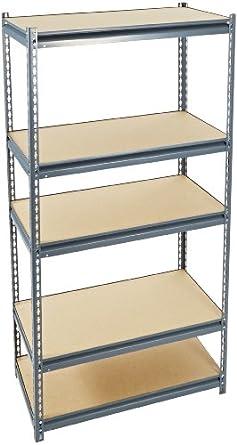 edsal ur1836 industrial gray heavy duty steel. Black Bedroom Furniture Sets. Home Design Ideas