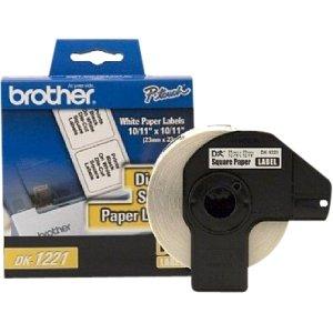 Brother Accessories Dk1221 Square Paper Label For Ql500 Ql550 Ql650Td Ql1050