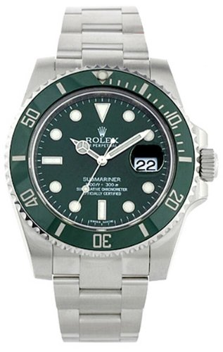 NEVER WORN ROLEX SUBMARINER MENS WATCH 116610LV