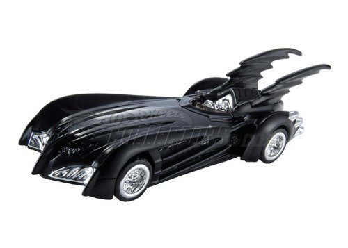 Hot Wheels Batman and Robin Batmobile Diecast Replica - 1