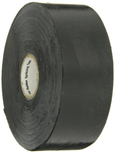 """Scotch Linerless Rubber Splicing Tape 130C, 1-1/2"""" Width, 30 Foot Length (Pack Of 1)"""