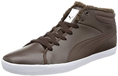 Puma Elsu Mid Winter 355453, Herren Sneaker, Braun (chocolate brown-white 02), EU 40.5 (UK 7) (US 8)