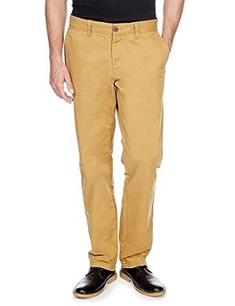 MONOPRIX HOMME - Pantalon slack - Homme - Taille : 38 - Couleur : CANOÉ H