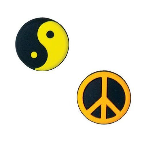 WILSON Vibra Fun Yin Yang/Peace Tennis Dampeners - 1