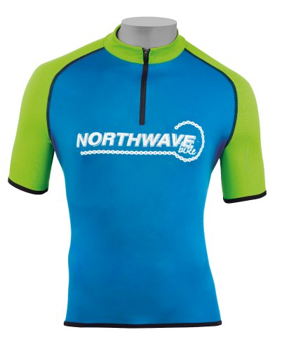 North Wave Rocker maglia ciclista corto blu 2013