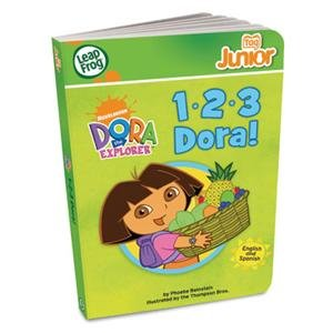 NEW Tag Junior Book: 1-2-3 Dora! (Toys) new game dendy junior