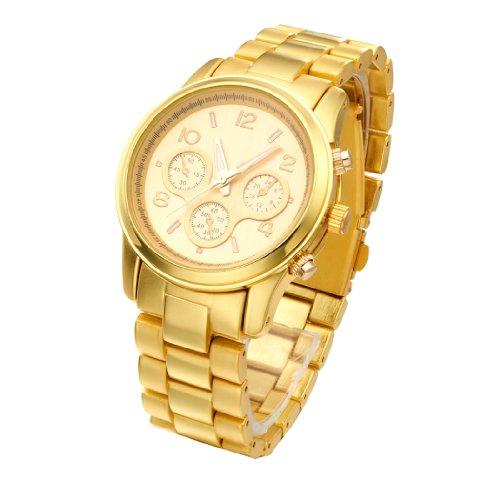 Watches Women Fashion Luxury Watch with Brand Logo Stainless Steel Gold Fashion Quartz Watch for Men Ladies Wrist Watches Women image