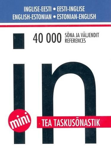 English-Estonian and Estonian-English Pocket Dictionary...