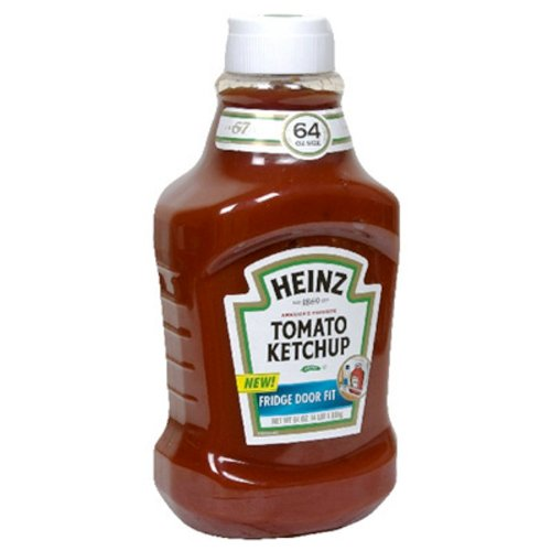 Ketchup, 64-Ounce Plastic Squeeze Bottles (Pack of 9)