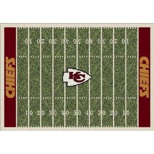 Milliken My Team Rugs - NFL - Kansas City Chiefs - Home Field 5