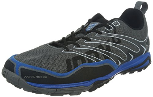 Inov-8 Men's Trailroc 255 Trail Runner,Grey/Blue,11.5 D US