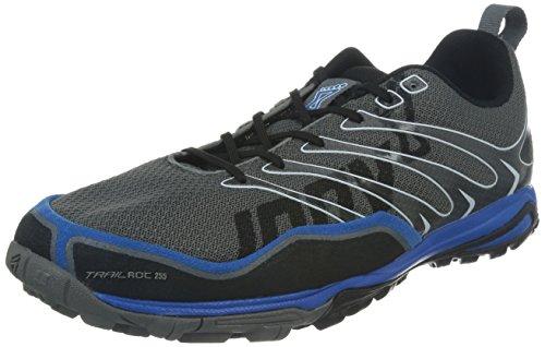 Inov-8 Men's Trailroc 255 Trail Runner,Grey/Blue,11 D US