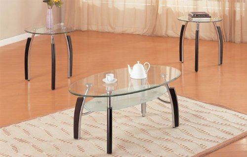 Oval Glass Coffee Table Decor  from ecx.images-amazon.com