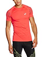 Asics Camiseta Manga Corta Speed Ss Top (Rojo)