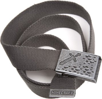 Minecraft Ironsword Belt S/M, Charcoal