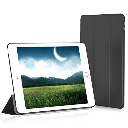 JETech iPad Air 2 Slim Fit Funda Carcasa Smart Case con Stand Función y Auto-Sueño/Estela para Apple iPad Air 2 (2014 versión) (Negro) - 3040