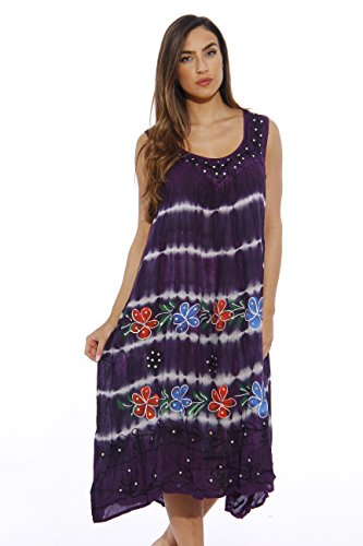 21322FXX-2 Riviera Sun Plus Size Summer Dresses / Swimsuit Cover Up