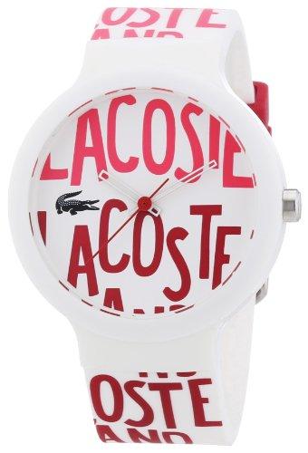 Lacoste - Reloj analógico unisex de silicona multicolor