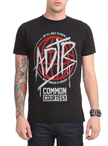 A Day To Remember Common Courtesy T-Shirt Size : Medium
