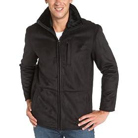 Amazon - Marc New York Men Faux Shearling Midlength Jacket - $88.50