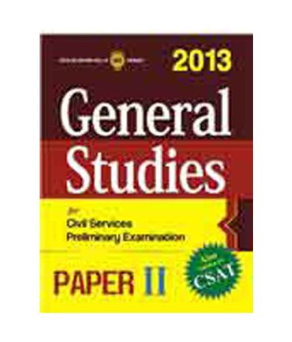 General Studies Paper II 2013 (CSAT)