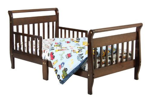 Dream On Me Classic Sleigh Toddler Bed - Espresso