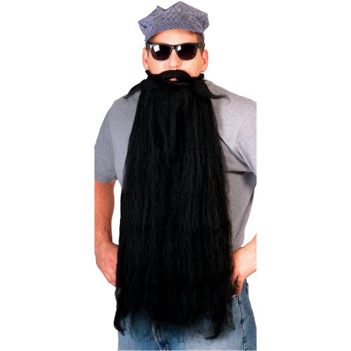 Rubie's Costume Super Long Mohair Beard and Moustache Set