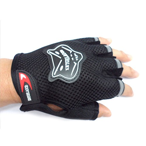 Hot Outdoor Sports Bicycle Cycling Biking Hiking Half Finger Fingerless Gloves
