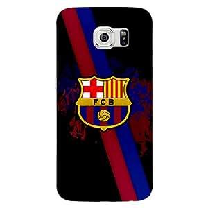 Jugaaduu Barcelona Back Cover Case For Samsung S6