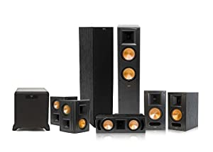 Klipsch RF-62 II Reference Series 7.1 Home Theater System with SW-450 Subwoofer (Black) from Klipsch