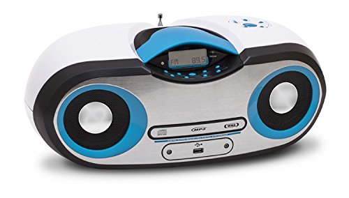 Big Ben Interactive CD54BCBL Lettore CD, MP3, Radio, USB 2, Blu