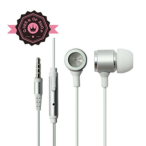 Ip680 Sliver Comfortable Fashion Best-Selling Products General Earplugs 3.5Mm Gold-Plated Plugs Headset With A Mike
