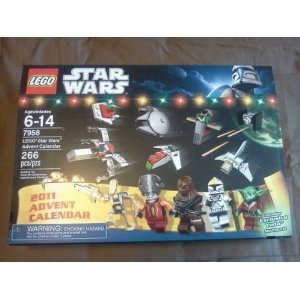 NEW 2011 LEGO STAR WARS ADVENT CALENDAR SET # 7958