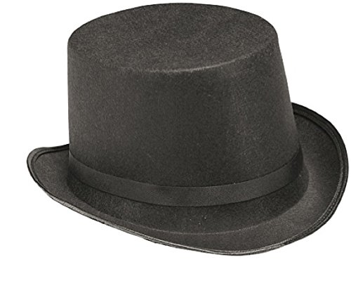 Child's Black Dura-Shape Top Hat