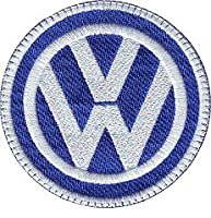 VW Embroidered Sew on Patch