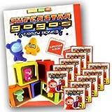 Gogo's Crazy Bones Superstar Series 6 Starter Package (1 Sticker Album + 10 Packets)
